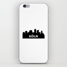 Köln Skyline iPhone Skin