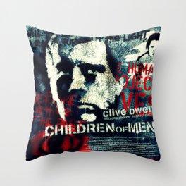 Children Of Men Throw Pillow