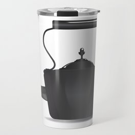 Victorian Black Kettle Travel Mug