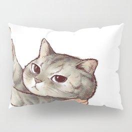 cat : hmmmmm! Pillow Sham