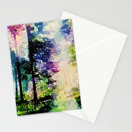 Synesthetic Forrest Stationery Cards