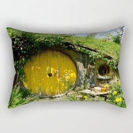 Hobbit Town Rectangular Pillow