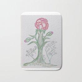 Flor De Fantasias Carnation Bath Mat