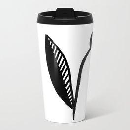 Black Bud Metal Travel Mug