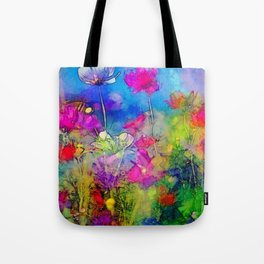 Just living is not enough... one must have sunshine, freedom, and a little flower. Hans Christian A Tote Bag