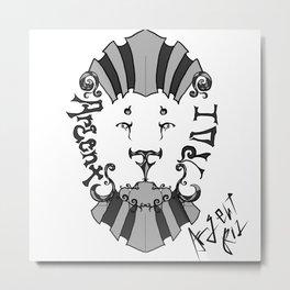 LION 新 Metal Print