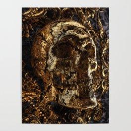 Go back to skull Poster