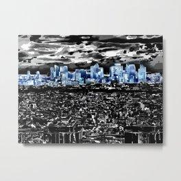 Paris - Blick vom Eiffelturm 2 Metal Print