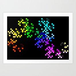little squares Art Print