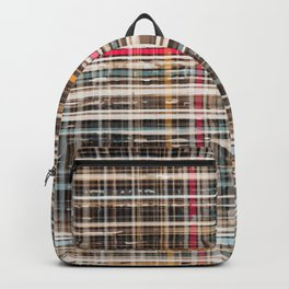 structure with red lines Backpack