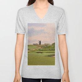 National Golf Links Of America Unisex V-Neck