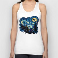 iphone 5 case Tank Tops featuring Starry Knight iPhone 4 4s 5 5c 6, pillow case, mugs and tshirt by Three Second