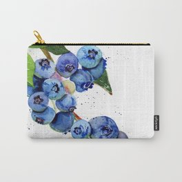 Blueberry Branch Carry-All Pouch