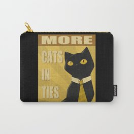 Cats in Ties - PSA Carry-All Pouch