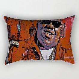 Long live The Notorious BIG Rectangular Pillow