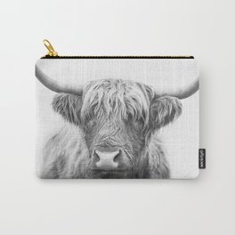 Highland Bull Carry-All Pouch