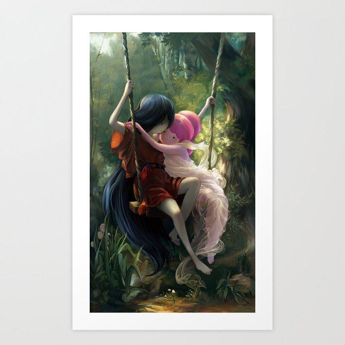 The Swing Kunstdrucke