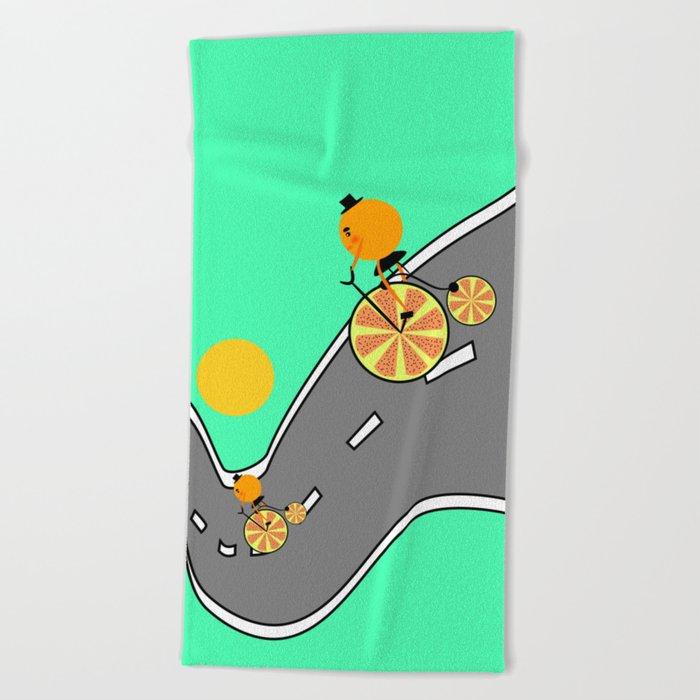 Joy ride Beach Towel