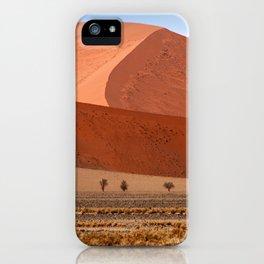NAMIBIA ... Namib Desert Dunes II iPhone Case