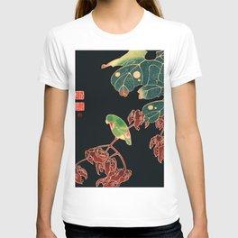 Ito Jakuchu - The Paroquet T-shirt