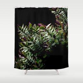 Haphazard Hebe Shower Curtain
