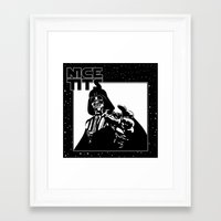 tits Framed Art Prints featuring Nice Tits by Vickn