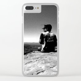 LAST ALIV3 Clear iPhone Case