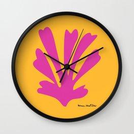 Henri Matisse, Palm Cut Out, 1943 Artwork Reproduction for Wall Art, Prints, Posters, Tshirts, Men, Women, Kids Wall Clock
