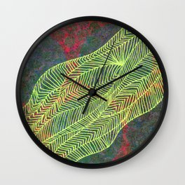 Linear No. 5 Wall Clock