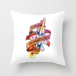 Seekerboy Throw Pillow