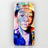 wiz khalifa iPhone & iPod Skins featuring wiz khalifa by Nic Moore