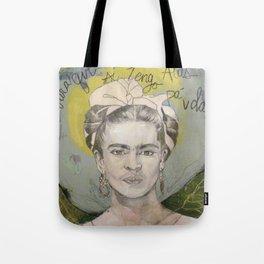 """Frida """"Pies, para que los quiero?"""" Tote Bag"""
