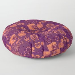 The Reichenbach Fall Floor Pillow