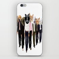 charmaine olivia iPhone & iPod Skins featuring Olivia by Cristian Emanuel Pop