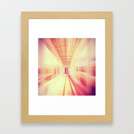 blur  Framed Art Print