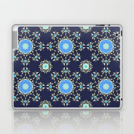 Golden and blue pattern Laptop & iPad Skin