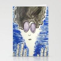 hippie Stationery Cards featuring Hippie by ArtAngel