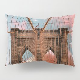 Brooklyn Bridge New York City Pillow Sham
