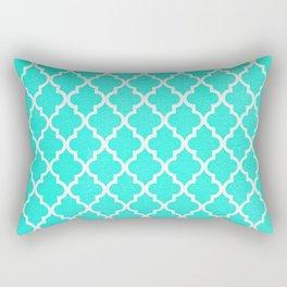 Morrocan Aqua Rectangular Pillow
