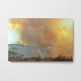 The Fire Rises Metal Print