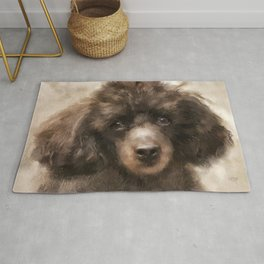 French Poodle Rug