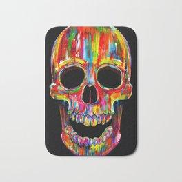 Chromatic Skull Bath Mat