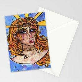 Tears of a Moon Princess Stationery Cards