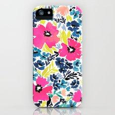 Watercolor Floral Slim Case iPhone (5, 5s)