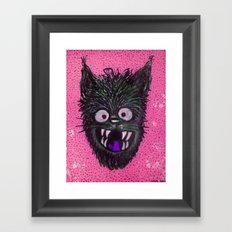 Street Cat. Framed Art Print