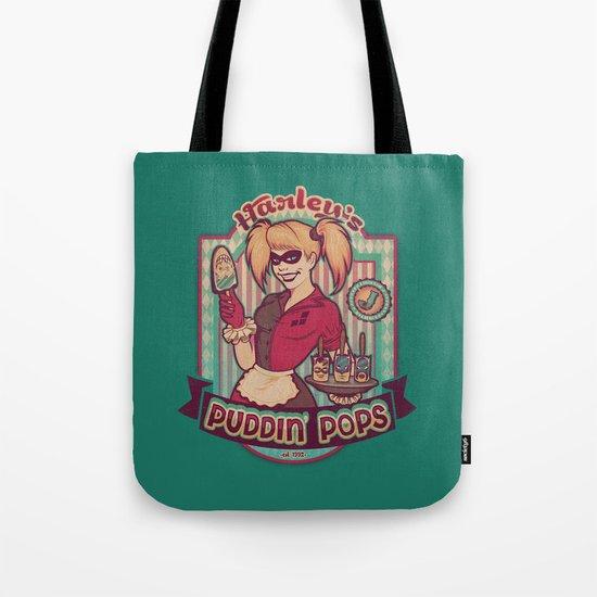 Harley's Puddin' Pops Tote Bag