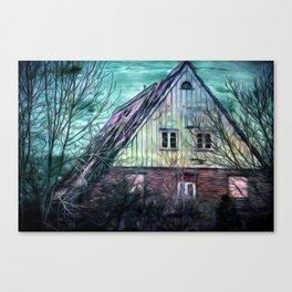 OLD FARMHOUSE Canvas Print