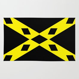 wigtownshire flag symbol Rug