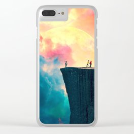 Color Mountain High Clear iPhone Case