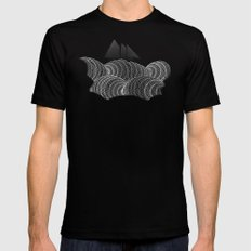 The Ancient Sea Mens Fitted Tee Black X-LARGE
